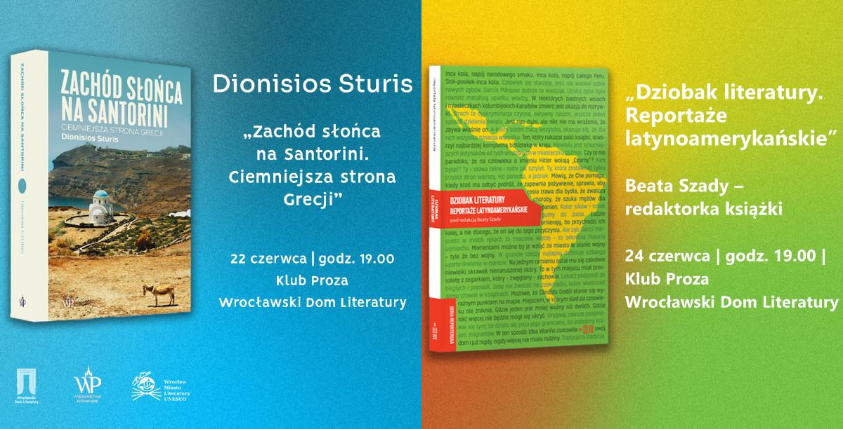 Sturis i Szady – reporterski tydzień we Wrocławskim Domu Literatury